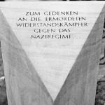 Gedenkstein der VVN - BdA auf dem Friedhof Freigrafendamm