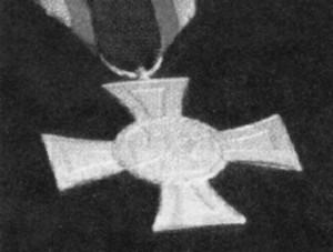 Der neue Orden: Tapferkeistmedaille