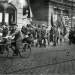 """4-Heinrich Schmitz beteiligte sich als Mitglied in der Jugendorganisation des """"Reichsbanner"""" an zahlreichen Aktionen und Kundgebungen."""