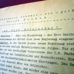 5-Mitteilung des Reichsbanner schwarz - rot - gold, Bezirk Bochum, an alle Mitglieder