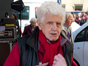 Antifaschistisches Urgestein: Hannes Bienert
