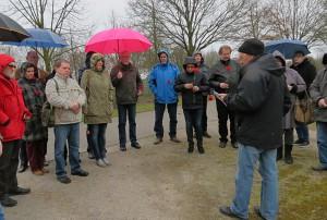 Wolfgang Dominik spricht am 28. März auf der Gedenkfeier in Pelkum