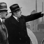 Adolf Hitler und Walter Borbet in Bochum