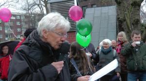 Wolfgang Dominik spricht in Bochum-Werne