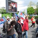 2- Demonstration durch die südliche Innenstadt zum Schauspielhaus