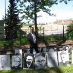 3- Alfons Zimmer mit weitern Bildtafeln der 33 politisch Inhaftierten