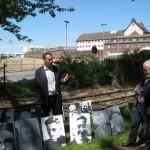 4- Im Hintergrund rechts die Justizvollzugsanstalt Bochum (Gefängnis Krümmede)