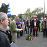 1-Uli Borchers, Bochumer BgR, begrüßt die TeilnehmerInnen des Gedenkganges