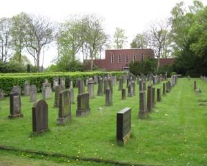Der jüdische Friedhof an der Wasserstraße