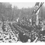 NSDAP-Aufmarsch auf dem heutigen Imbuschplatz