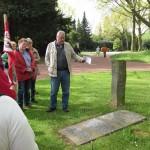 3-Gedenkstein für Heinrich König (SPD-Widerstand) auf dem Friedhof in Weitmar.