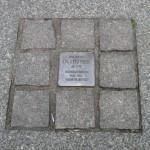 6-Der Stolperstein für OB Dr. Ruer am Bochumer Rathaus