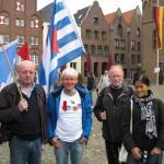 2- VVN-Mitglieder aus Bochum am 3. Oktober in Kalkar
