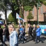 6- Demonstrationszug zur von-Seydlitz-Kaserne