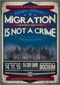 Demo am Samstag, 14.11.,15 Uhr