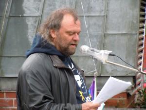 Felix Oekentorp Landessprecher der DFG-VK