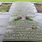 Gedenkstein an die toten sowjetischen Zwangsarbeiter