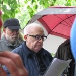 Felix Lipski bei seiner Gedenkrede