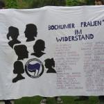 Erinnerung an die Bochumer Frauen im Widerstand