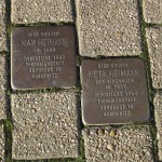 5-Stolpersteine für Max und Meta Heimann auf der Alten Bahnhofstraße in Langendreer
