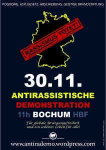 Antirassistische Demo 30.11.2013