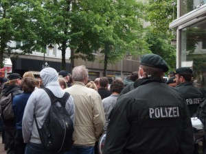 Gegendemo am 3. Mai  in Bochum