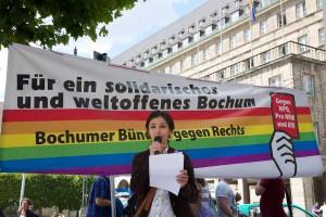 Deniz Sert vom Bochumer Forum für Antirassismus