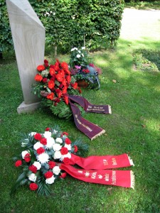 Gedenkstein auf dem Ehrenrundplatz