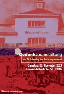 Gedenkveranstaltung 9. November