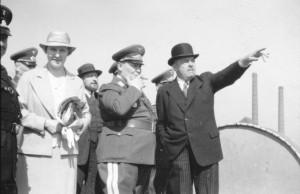 Hermann Göring 1935 beim Bochumer Verein