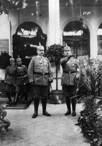 Hindenburg und Ludendorff 1917