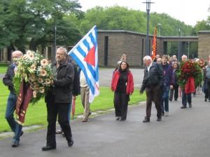 Gedenkveranstaltung an die Opfer des Faschimus am 12.09.2010