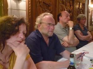 TeilnehmerInnen an der Mitgliederversammlung