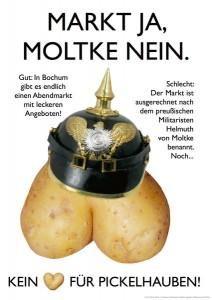 Markt Ja, Moltke Nein!