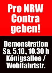 """Pro NRW"" Contra geben!"