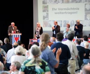 Standing Ovations für Professor Heinrich Fink