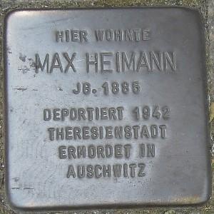 Stolperstein für Max Heimann in Langendreer