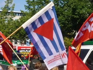 VVN-Protest gegen die NPD-Kundgebung