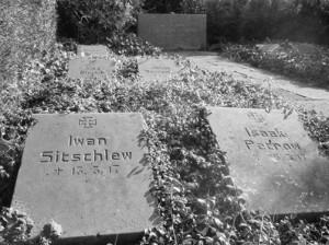 Gräber russischer Zwangsarbeiter in Wattenscheid